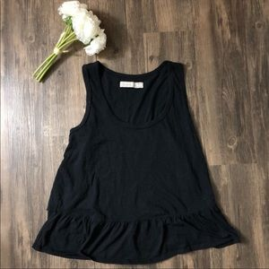 ❗️4 for $20❗️Abercrombie & Fitch Black Peplum Top